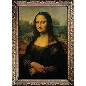 Rompecabezas Mona Lisa Geoconda Davinci 1000 Pz. Trefl 10002