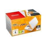 Consola New 2ds Xl Blanca / Naranja