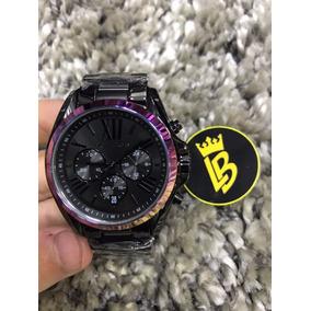 Relógio Michael Kors Mk6444 Roman Preto Aro Brilhante · R  759. 12x R  63 sem  juros f0f3dfdee4