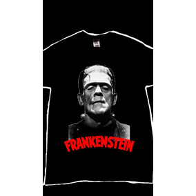 Playera Serigrafia Frankenstein Peliculas Yasbek