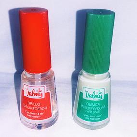 Brillo De Uñas Valmy, Tapa Roja Y Verde 100% Original