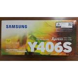 Toner Samsung Y406s Amarillo Nuevo Original