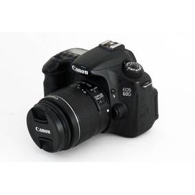 Canon 60d Usada + Lente 18-55mm - Excelente Estado