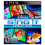 Vg - Sing It Family Hits Ps3