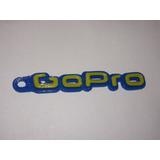 Llavero Gopro Dos Colores. Biodegradable