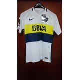 Camiseta Suplente Boca Juniors Blanca Dri Fit Nueva L