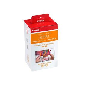 Papel Canon Pack De 108 Hojas Para Selphy Cp + Tinta