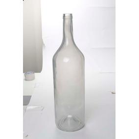 Garrafa De Vidro Decorativa Branca - Cromus: 1712868 Único