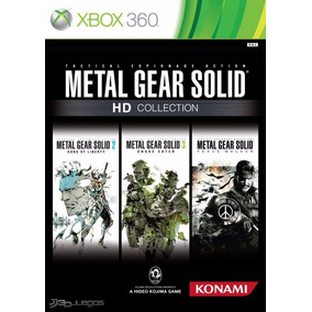 Metal Gear Solid Hd Collection 3 Juegos - Xbox 360