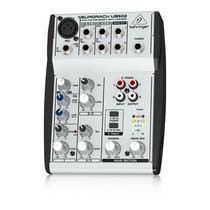 Mesa Som Mixer Behringer Eurorack Ub502 Mixer 5canais Ub 502