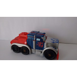 Transformer Optimus Prime 2008 Hasbro Tomy Pop Up