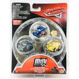 Cars Serie 3 Carros Mini Metalicos 5cm Disney Pixar Mattel