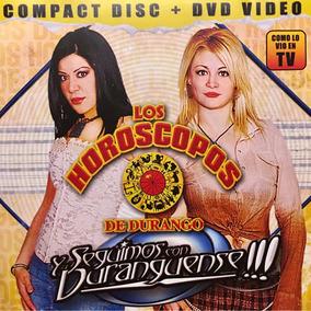 Cd Los Horoscopos De Durango Y Seguimos Con Duranguense Dvd