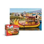 Rompecabezas 1000 Piezas Lago Titicaca Latinoamérica Ronda