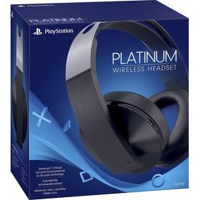 Headset Platinum Wireless Fone S/ Fio Ps4 Vr Sony Fre Grátis