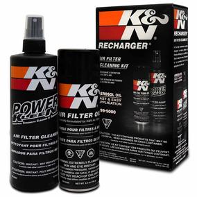 Kit Limpeza De Filtros K&n Detergente Oléo Aerosol 99-5000
