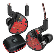 Audifonos Kz Zs10 Originales Con Microf 10 Drives + Estuche