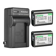 Cargador + 2 Baterías Sony Np-fw50 Kastar Npfw50 Oferta!