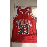 Camiseta De Basket Nba Bulls Scottie Pipen