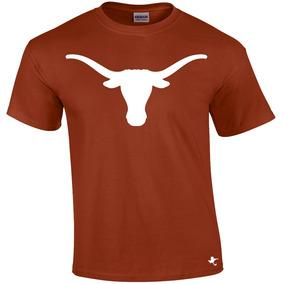 Playera Texas Longhorns Cuernos Largos Tigre Texano Designs