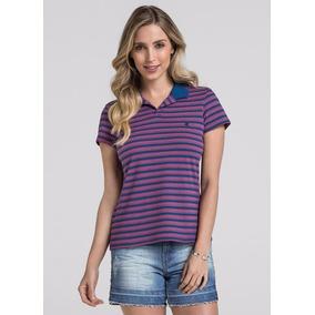 541d4bebb0 Camisa Pólo Listrada - Camisa Pólo Manga Curta Femininas no Mercado ...