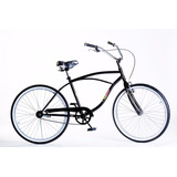 Bicicleta Rod 26 Playera Manubrio Cromado Full