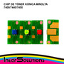 Chip Toner Kónica Minolta 7400/7440/7450 C M Y K