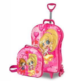 Kit My Pink Em Eva 3d Rosa E Amarelo - Maxtoy