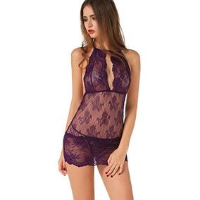 Pantys La Victoria De Vestidos De Encaje Violeta Sexy Sin !