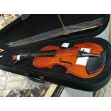 Excelente Y Práctico Violin De 4 Cuartos, Incluye Estuche.