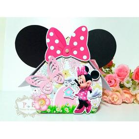 Jardim Da Minnie Casinha Lembrancinhas Personalizadas 10 Un
