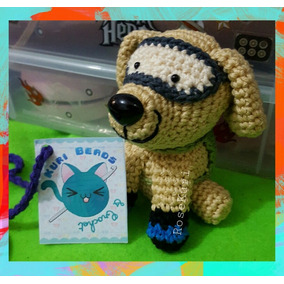 Frida Amigurumi Tejida A Crochet Perrita Rescatista