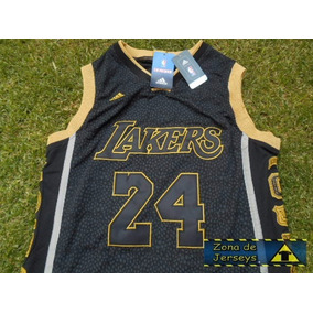 Jersey Los Angeles Lakers Conmemorativa Adios Kobe Bryant 24