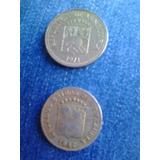 Moneda De 5 Y 10 Centimos De 1946 Y 1971