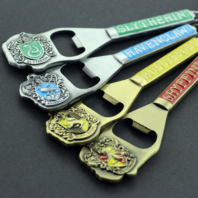 Abridor De Garrafas Casas De Hogwarts Harry Potter Chaveiro