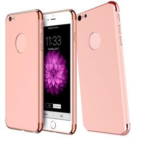 Caso Para Apple Iphone 3 En 1 Híbrido... (rose Gold.)