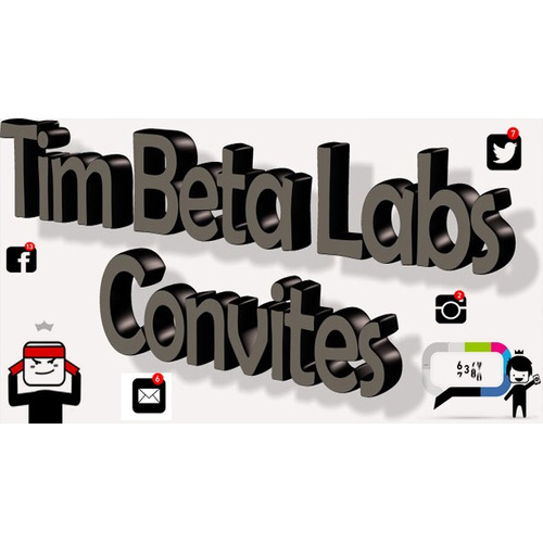 Convite Tim Beta Original
