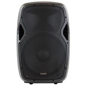 Caixa De Som Ativa Amplificada Frahm Gr15a Bt Bluetooth Usb