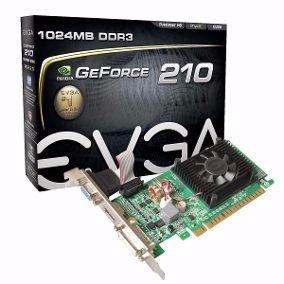 Tarjeta De Video Evga Geforce 210 1gb Ddr3 Pci Express