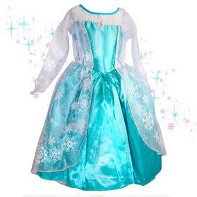 Multicolor - 4 - Disfraz Infantil Elsa Frozen Disney