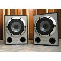 Vendo Par Caixas Sony Muteki Cor Prata - 185w