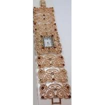 Relógio Bracelete Dourado