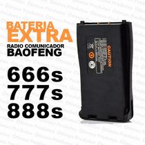 Bateria Extra Baofeng Radio Walktalk Bf-666s Bf-777s Bf-888s