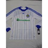 Camiseta Oficial Del Dinamo De Kiev - Tela De Juego - adidas
