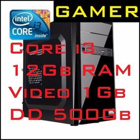 Cpu Gamer Intel Core I3 2.93ghz+ram 12gb+video Ati 1gb+dd500