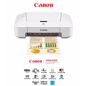 Lote De 10 Impresora Canon Pixma Ip2810