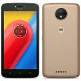 Smartphone Motorola Moto C   16gb  4g  2chips   +nota Fiscal