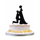 Topo De Bolo Escultura Casamento Casal Noiva Gravida