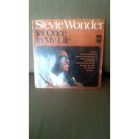 Lp Stevie Wonder - For Once In My Life Importado