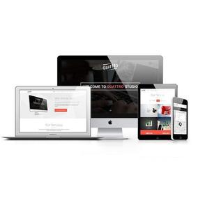 Site Institucional + Blog + Admin Responsivo + Instalação
